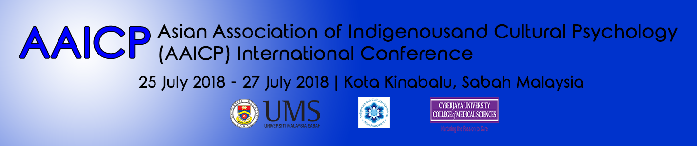 Asian Association of Indigenous and Cultural Psychology (AAICP) International Conference