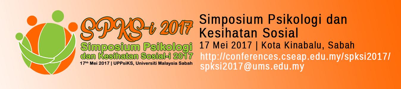 Simposium Psikologi dan Kesihatan Sosial-I 2017 (SPKS-I 2017)