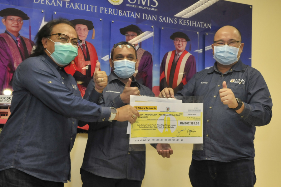 FPSK Management Appreciation Session & Mock Check presentation