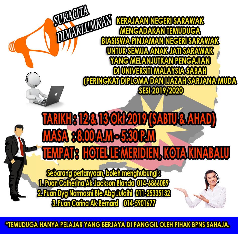 Biasiswa Pinjaman Negeri Sarawak Jabatan Hal Ehwal Pelajar Alumni
