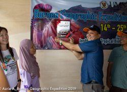 Majlis Perasmian 'Borneo Geographic Expedition 2019 : Kadamaian - Kinabalu Park'