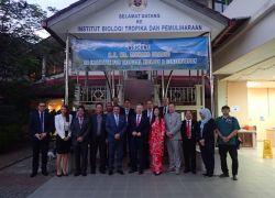 H. E. Mr. Richard Brabec visit to ITBC