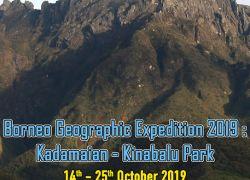 BORNEO GEOGRAPHIC EXPEDITION 2019 : KADAMAIAN - KINABALU PARK