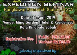 Borneo Geographic Expedition Seminar 2019