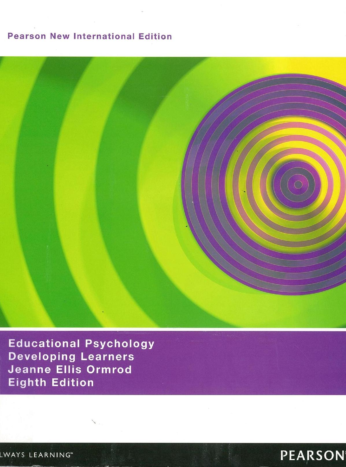 Educational Psychology Developing