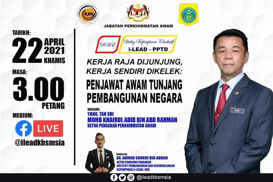 Program Dialog Kepimpinan Eksekutif: I-LEAD - PPTD