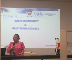 "KURSUS ""BASIC MICROSCOPY & MAINTENANCE COURSE"""