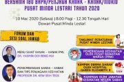 Majlis Perjumpaan Pendaftar Bersama Ibu Bapa/Penjaga Kanak-Kanak/Murid Pusat Minda Lestari Tahun 2020