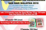 PROGRAM SAMBUTAN KEMERDEKAAN DAN HARI MALAYSIA 2018 ANJURAN PUSAT MINDA LESTARI UNIVERSITI MALAYSIA SABAH DENGAN KERJASAMA PUTRA & ASSOCIATES