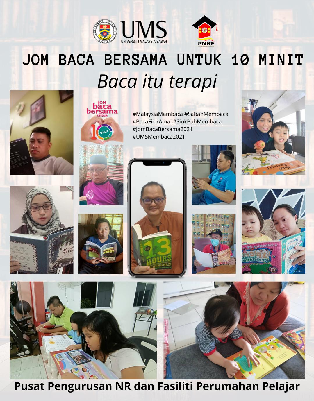 Jom baca bersama untuk 10 minit