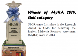 Winner of MyRA 2014, Unit Category