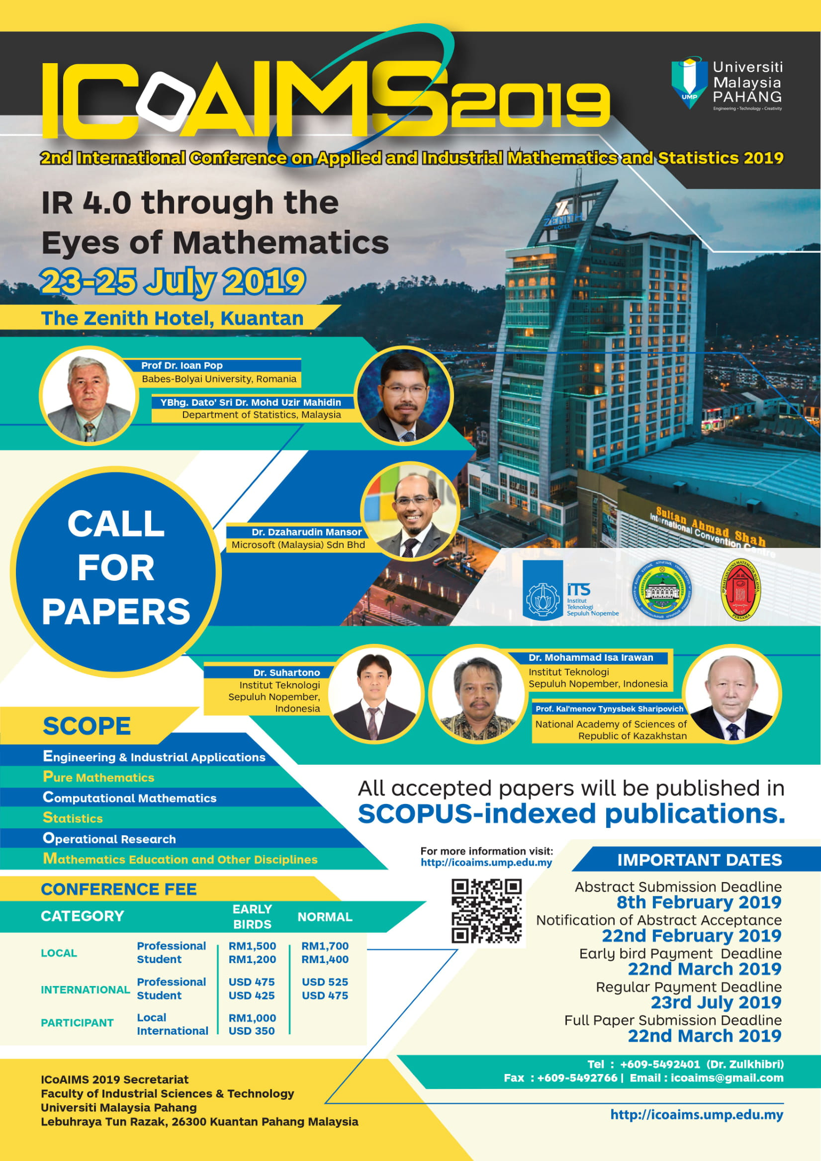 UMS - 2ND INTERNATIONAL CONFERENCE ON APPLIED & INDUSTRIAL