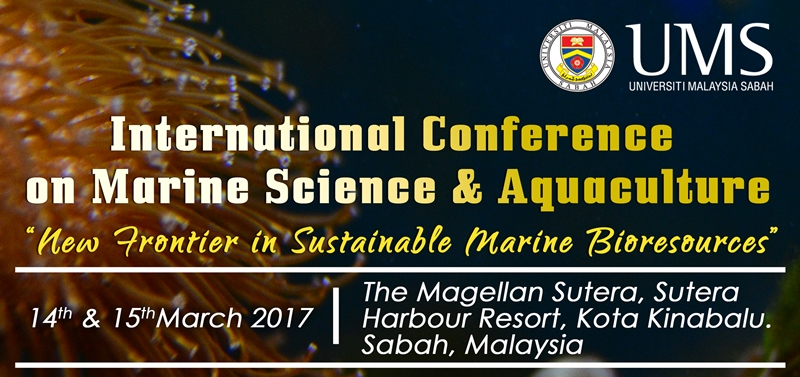 UMS - International Conference on Marine Science & Aquaculture
