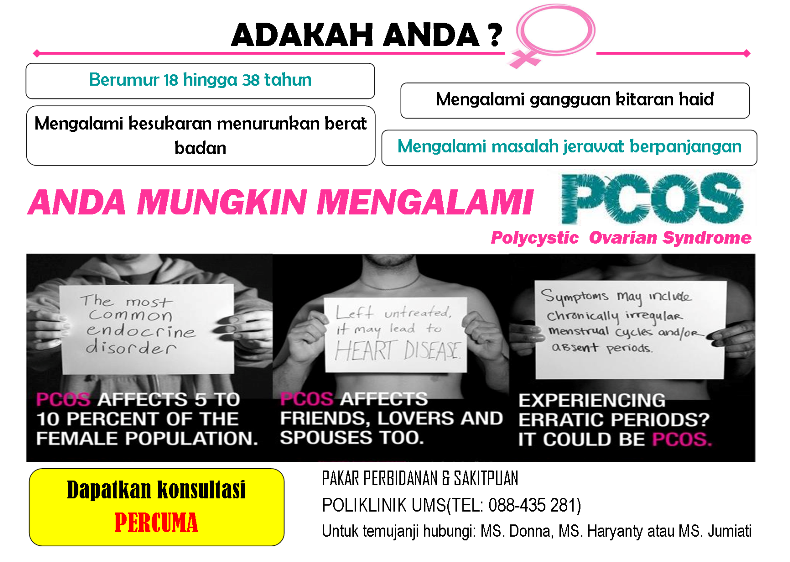 PCOS advertisement