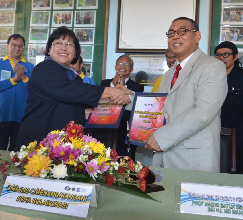 Nota kolaborasi kebudayaan ums-ipg kent tuaran ditandatangani